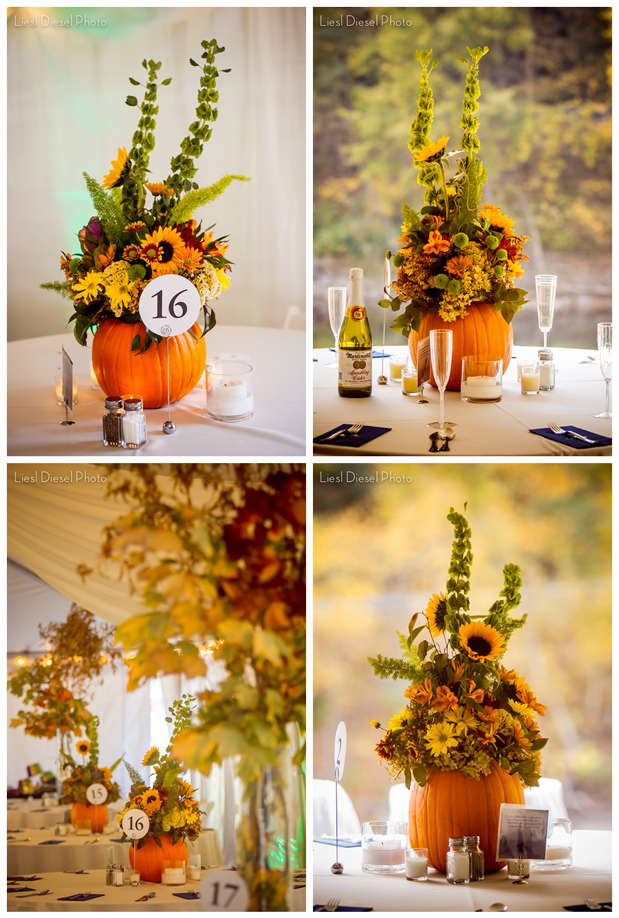 6 Outdoor Rustic Country Wedding Ceremony Reception Pumpkin